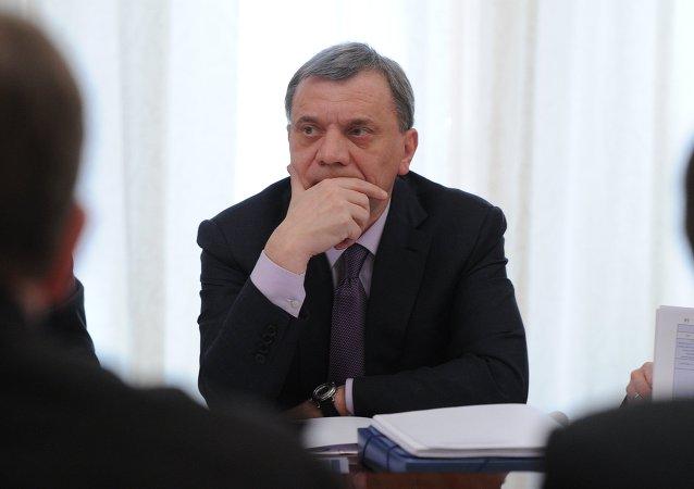 El vice primer ministro ruso, Yuri Borísov (archivo)