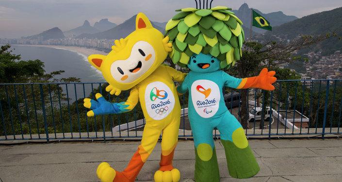 Vinícius y Tom, las mascotas de los Juegos Olímpicos de Río 2016