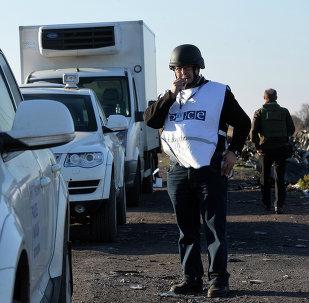 Él trabajo en el lugar del siniestro del Boeing malasio continúa, afirma la OSCE