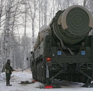 Misil balístico intercontinental de fabricación rusa Tópol-M