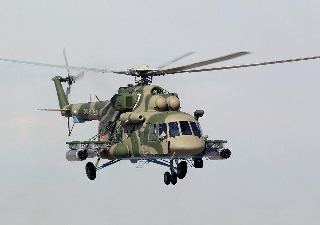 Helicóptero Mi-8 AMTSh