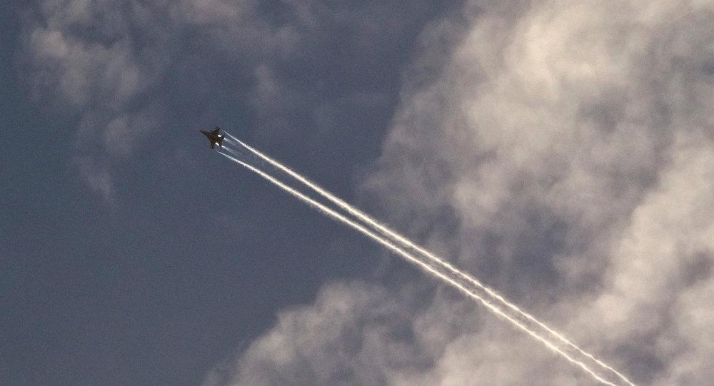 Avión de EEUU en Siria