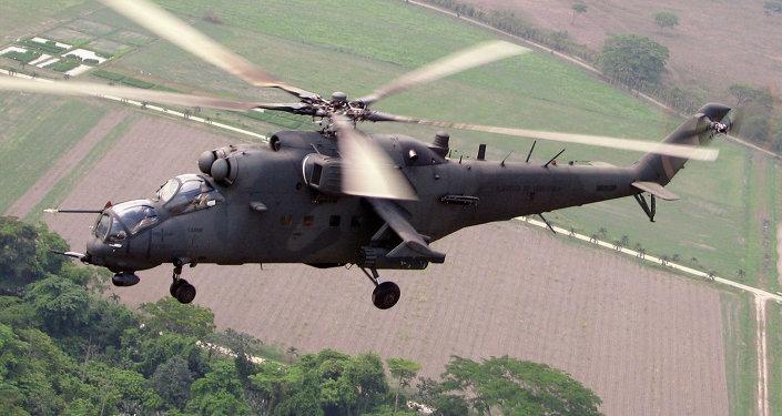 Helicópteros rusos de combate