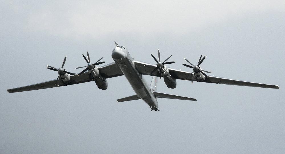 Bombardero estratégico ruso Tu-95MS (archivo)