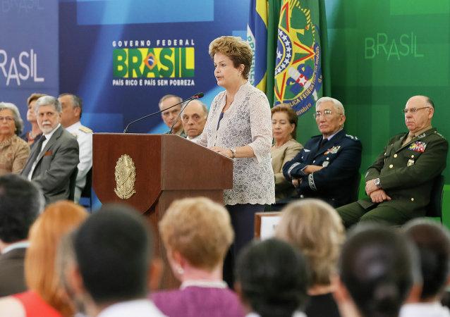 Дилма Руссефф, президент Бразилии, 16 декабря 2014