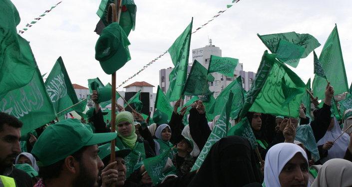 El movimiento radical islámico Hamas
