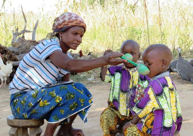 Голод в Африке