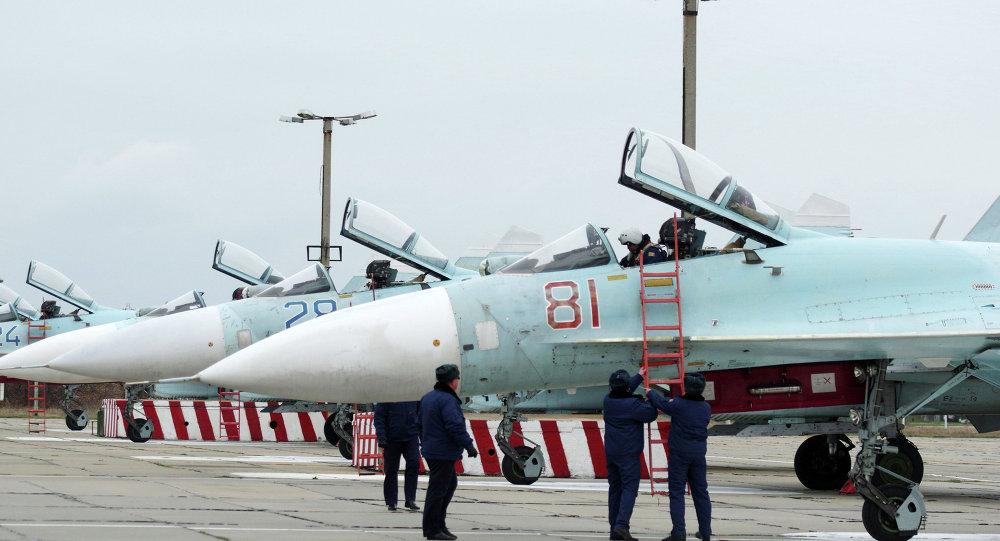 Cazas Su-27SM