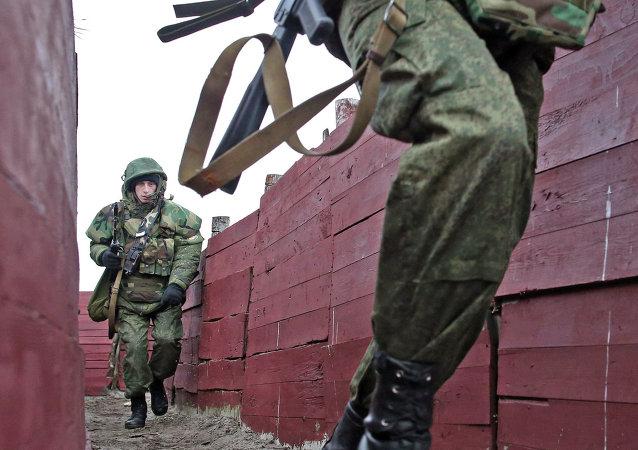 Infantes de la Marina rusa