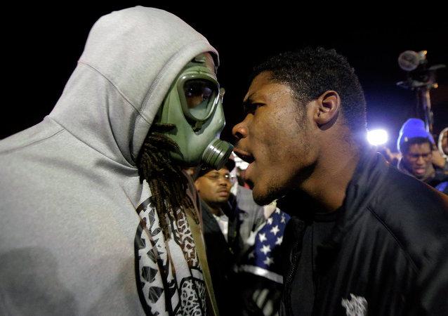 Disturbios raciales en EEUU
