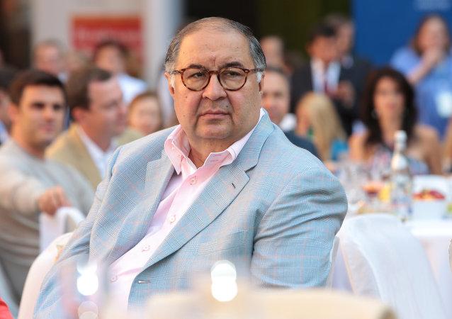 Alisher Usmánov, empresario ruso