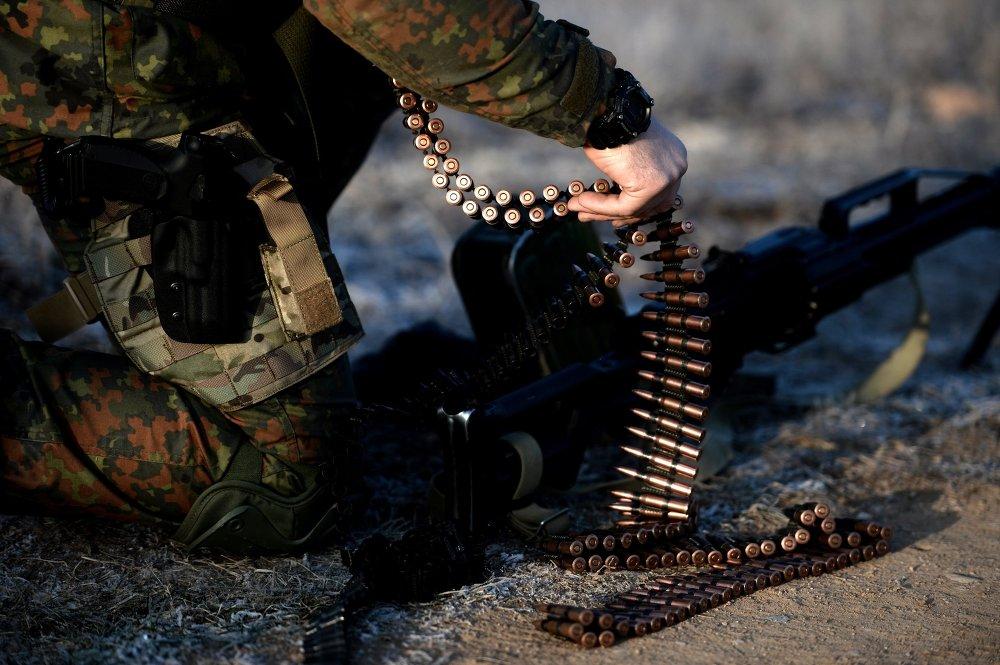 Un soldado del Grupo Especial de Reacción Rapida (archivo)