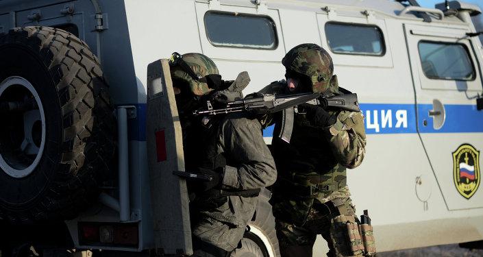 Unidad de reacción rápida de las fuerzas especiales rusas (imagen referencial)