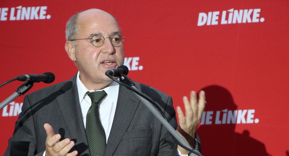 Грегор Гизи, немецкий политик