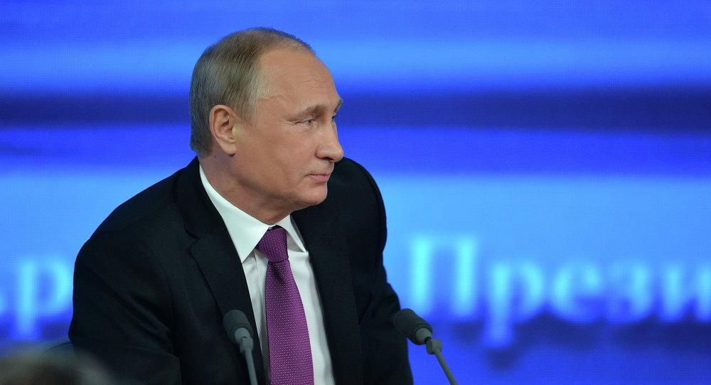 Большая пресс-конференция Владимира Путина 18 декабря 2014