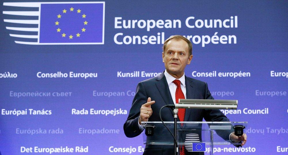 Donald Tusk, presidente de la Comisión Europea