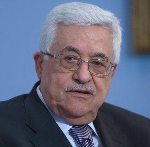 Глава Палестинской национальной администрации Махмуд Аббас