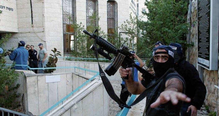 Masacre en una sinagoga: operación especial en el lugar de los hechos