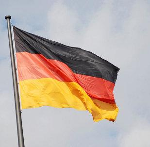 La bandera de Alemania