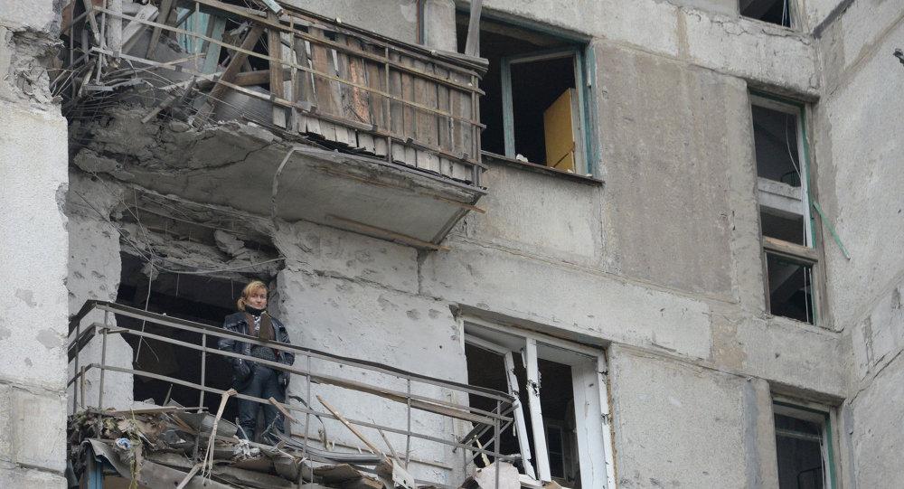 Al menos 10 civiles muertos por bombardeos en Górlovka en las últimas 24 horas