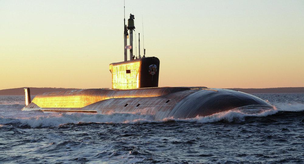 Submarino ruso (Archivo)