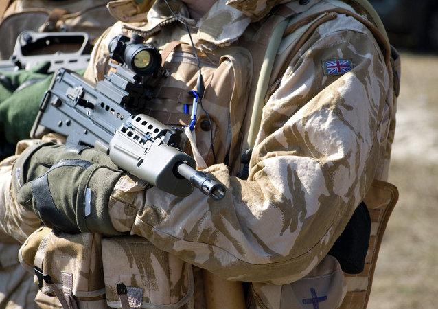 Soldado del ejército británico