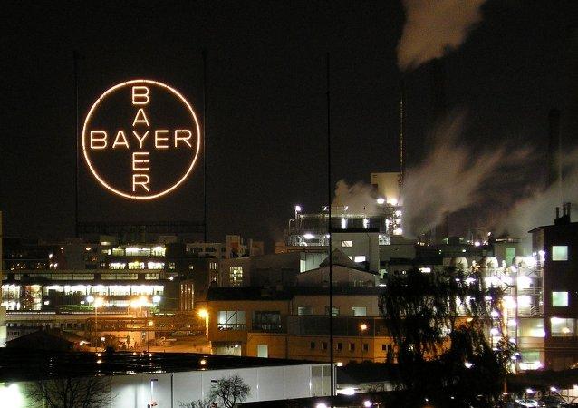 Логотип компании Bayer