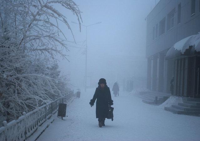 Los fríos inviernos de Yakutia