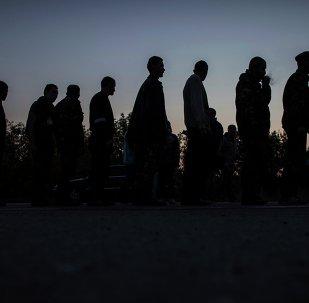 Canje de prisioneros en Ucrania (archivo)