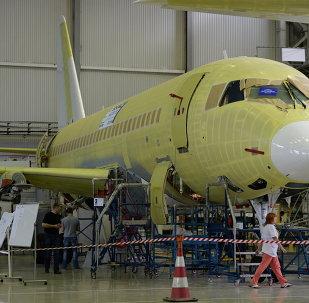 Сборка самолетов Sukhoi Superjet в Комсомольске-на-Амуре