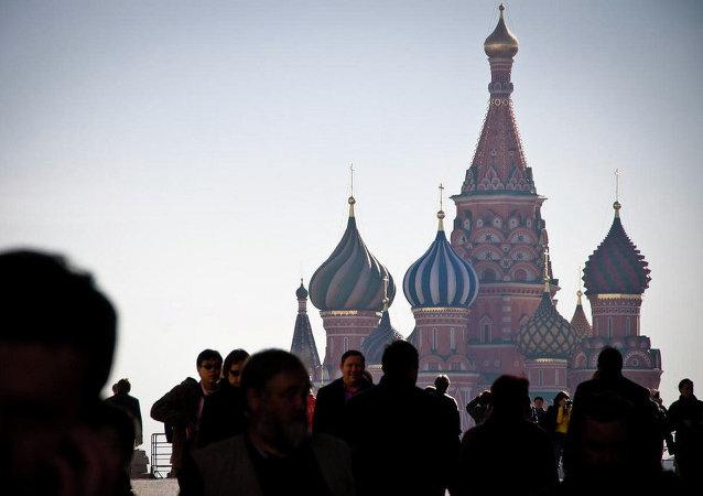 La Plaza Roja en Moscú