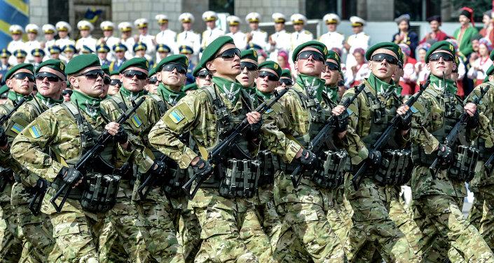 Desfile mliitar en Kiev