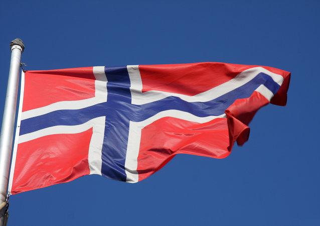 La bandera de Noruega