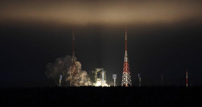 El cohete pesado ruso Angará-A5