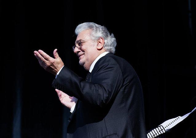 Placido Domingo, famoso tenor español