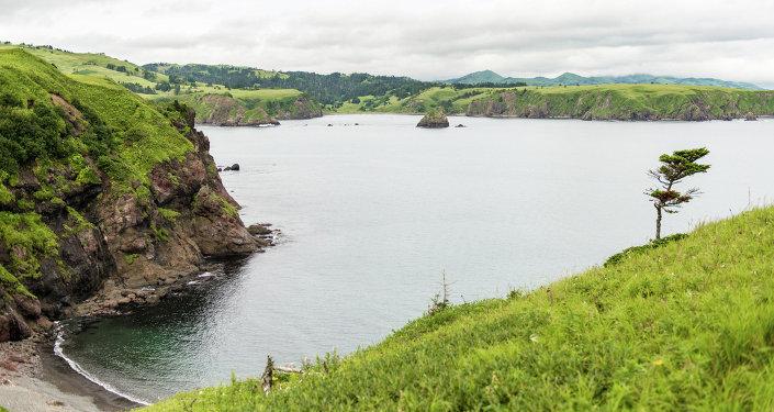 Shikotan, las islas Kuriles