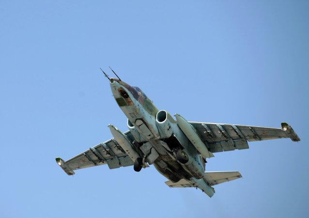 Avión ruso Su-25