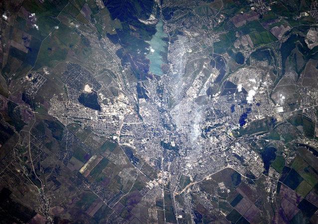 Simferópol, la capital de la República de Crimea