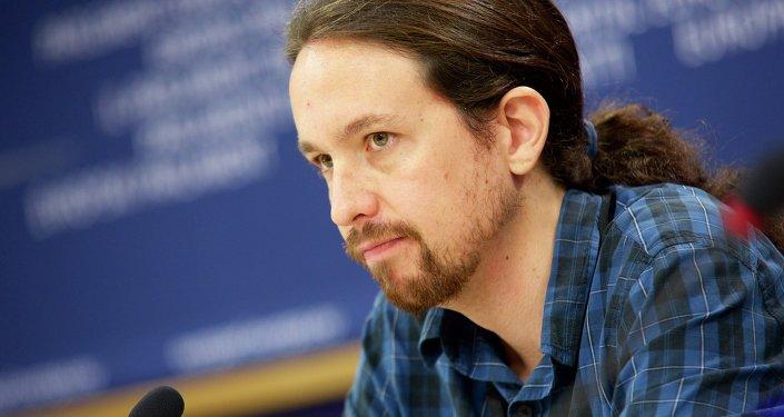 Pablo Iglesias, ecretario general de Podemos