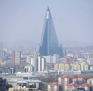 Pyongyang, la capital de Corea del Norte (archivo)
