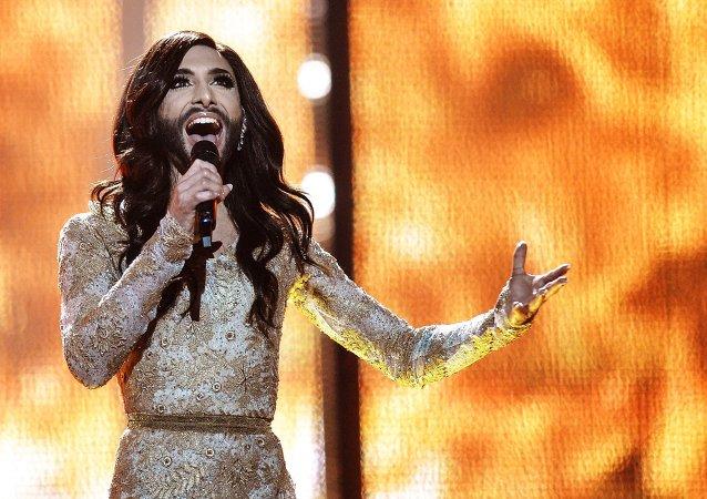 Conchita Wurst, ganadora de Eurovisión 2014