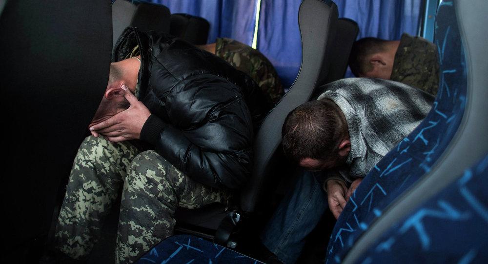 Prisioneros ucranianos