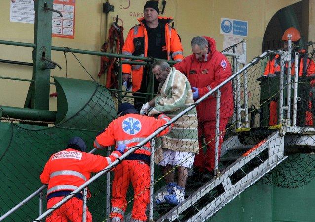 Accidente del ferry Norman Atlantic en el mar Jónico