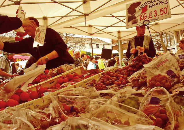 Рынок во Франции