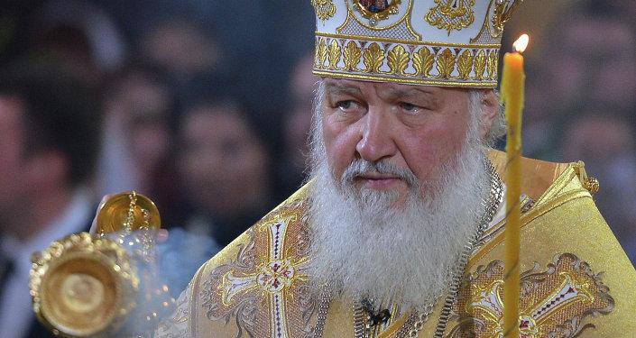 El Patriarca de Rusia Kirill