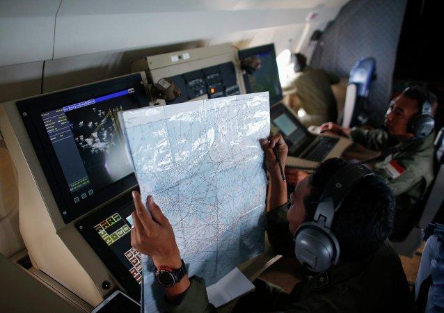 Búsqueda de los restos del avión desaparecido de AirAsia