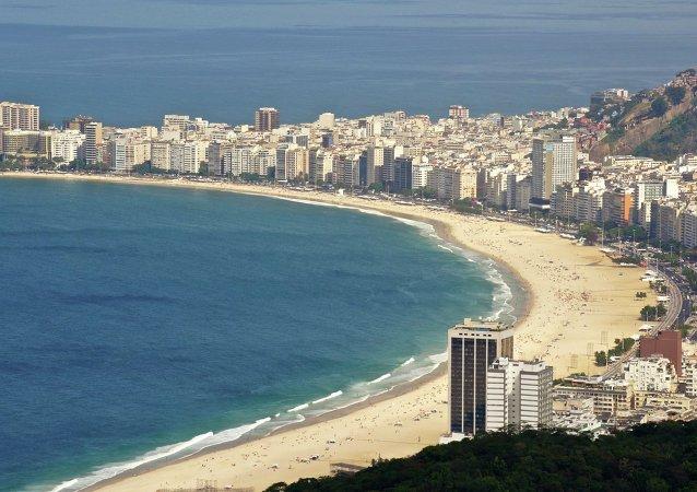 Copacabana Beach - Rio de janeiro - Brasil