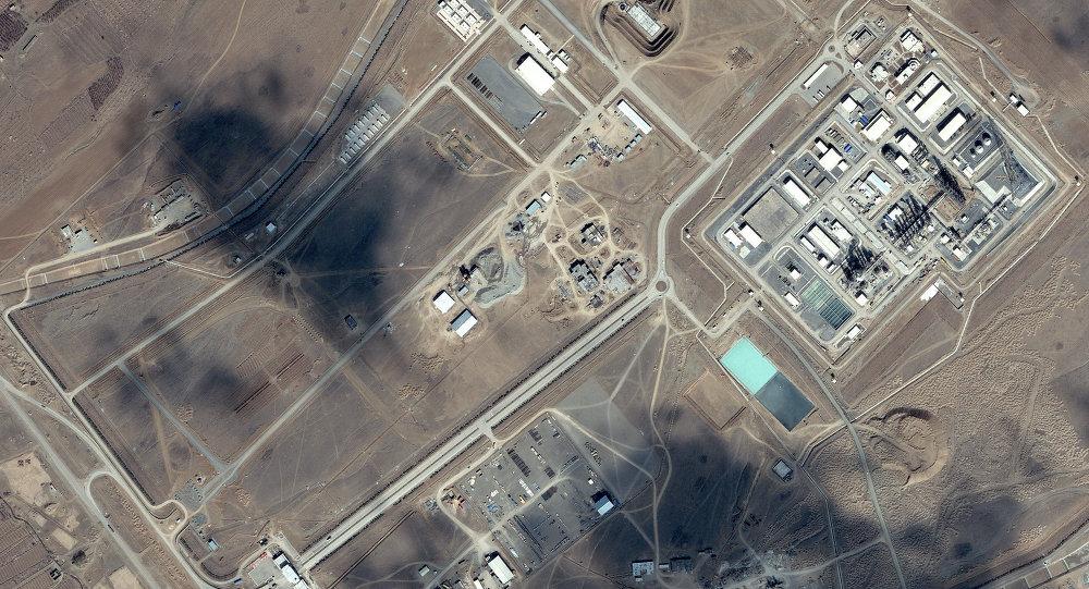 Centrifugadora nuclear iraní en Arak