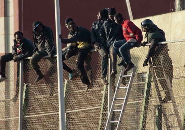 Inmigrantes a España