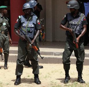Policía de Nigeria
